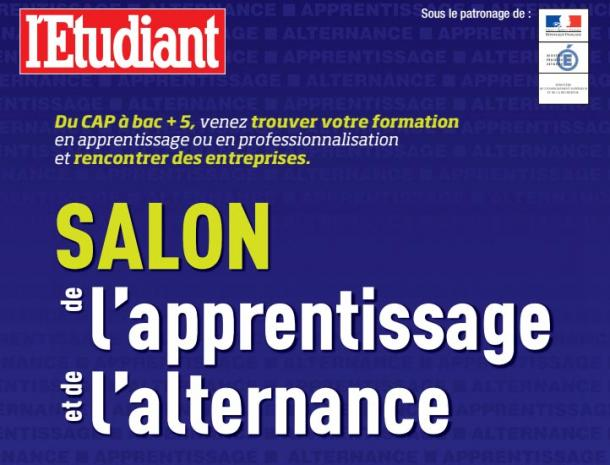 Salon de l apprentissage et de l alternance les 27 et 28 for Salon de l apprentissage et de l alternance