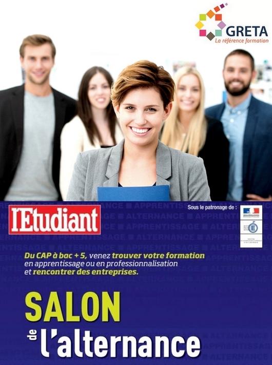 Salon de l alternance 20 21 janvier un rendez vous for Alternance salon