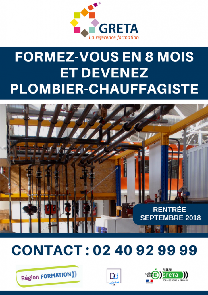 formation pole emploi plomberie
